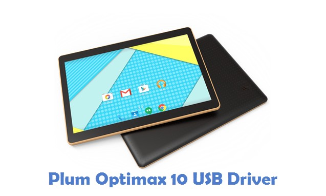 Plum Optimax 10 USB Driver