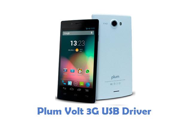 Plum Volt 3G USB Driver
