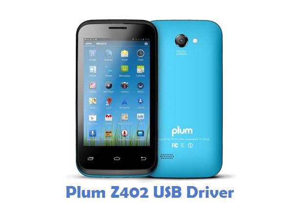 Plum Z402 USB Driver
