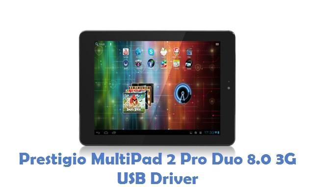 Prestigio MultiPad 2 Pro Duo 8.0 3G USB Driver