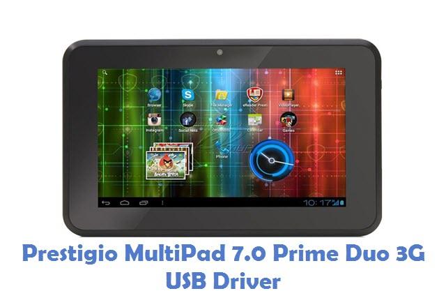 Prestigio MultiPad 7.0 Prime Duo 3G USB Driver