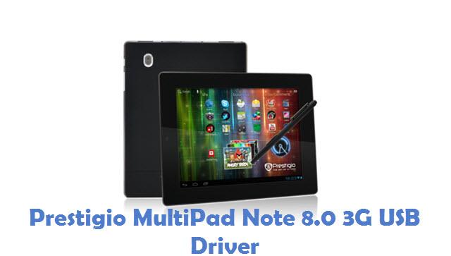 Prestigio MultiPad Note 8.0 3G USB Driver