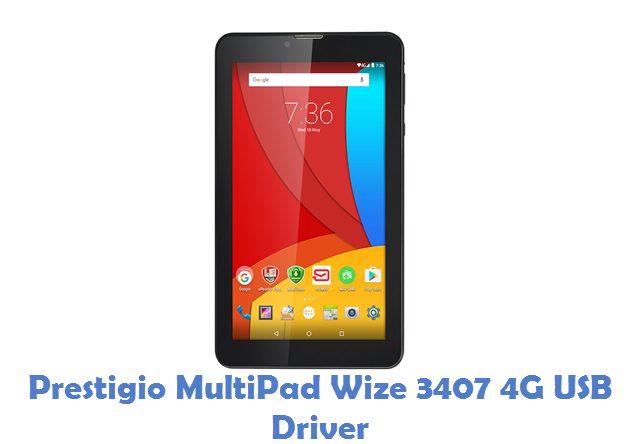 Prestigio MultiPad Wize 3407 4G USB Driver