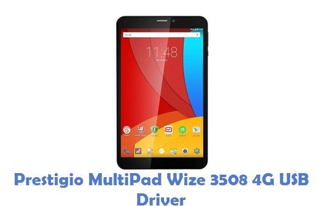 Prestigio MultiPad Wize 3508 4G USB Driver