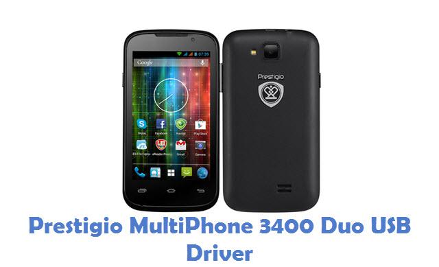 Prestigio MultiPhone 3400 Duo USB Driver