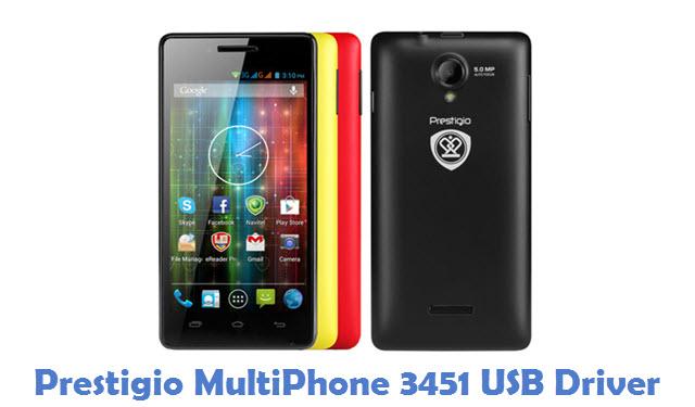 Prestigio MultiPhone 3451 USB Driver