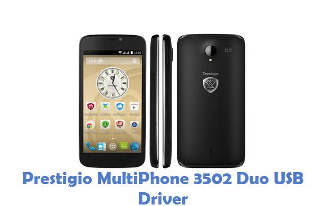 Prestigio MultiPhone 3502 Duo USB Driver