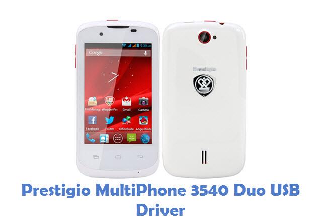 Prestigio MultiPhone 3540 Duo USB Driver