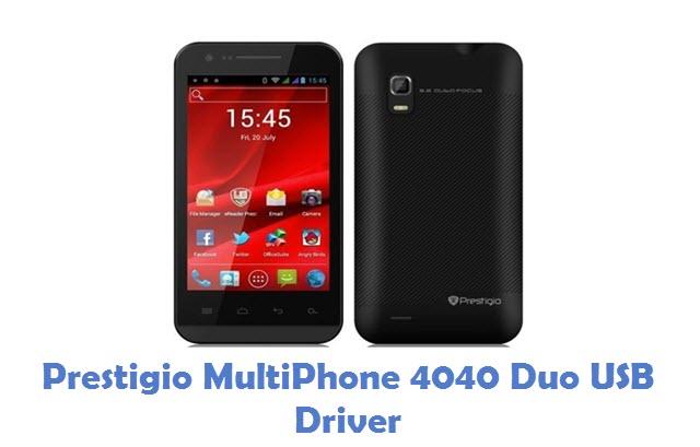 Prestigio MultiPhone 4040 Duo USB Driver