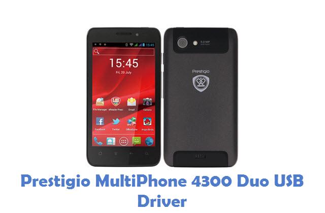 Prestigio MultiPhone 4300 Duo USB Driver