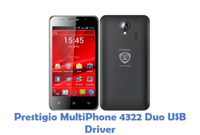 Prestigio MultiPhone 4322 Duo USB Driver
