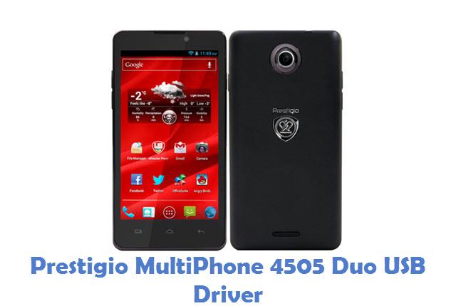 Prestigio MultiPhone 4505 Duo USB Driver
