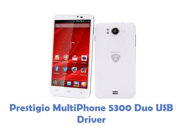 Prestigio MultiPhone 5300 Duo USB Driver