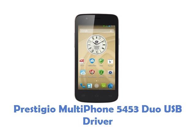 Prestigio MultiPhone 5453 Duo USB Driver
