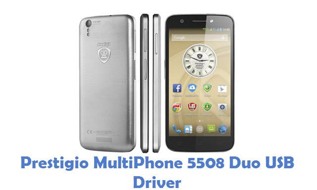 Prestigio MultiPhone 5508 Duo USB Driver