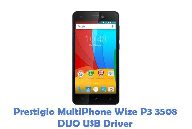 Prestigio MultiPhone Wize P3 3508 DUO USB Driver