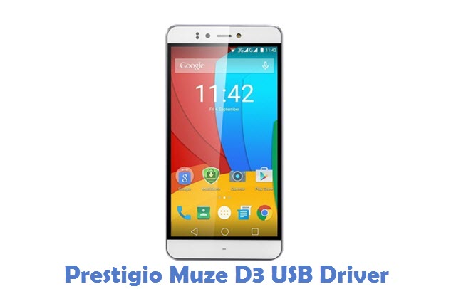 Prestigio Muze D3 USB Driver
