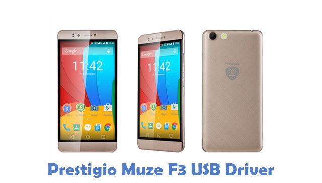 Prestigio Muze F3 USB Driver