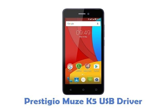 Prestigio Muze K5 USB Driver