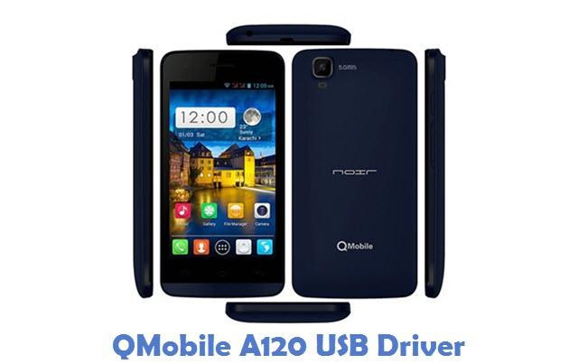 QMobile A120 USB Driver
