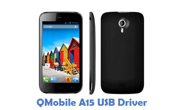 QMobile A15 USB Driver