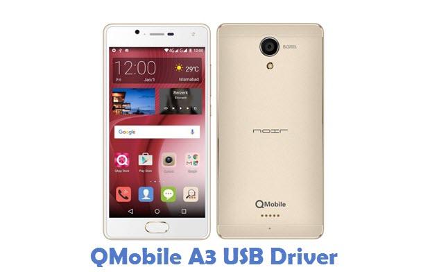 QMobile A3 USB Driver