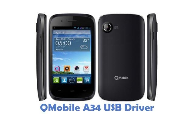 QMobile A34 USB Driver