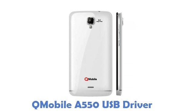QMobile A550 USB Driver