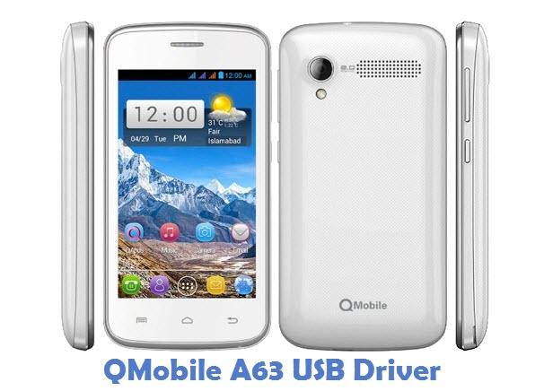 QMobile A63 USB Driver