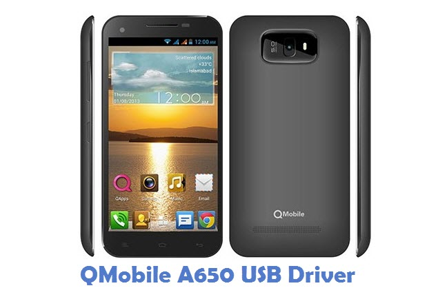 QMobile A650 USB Driver