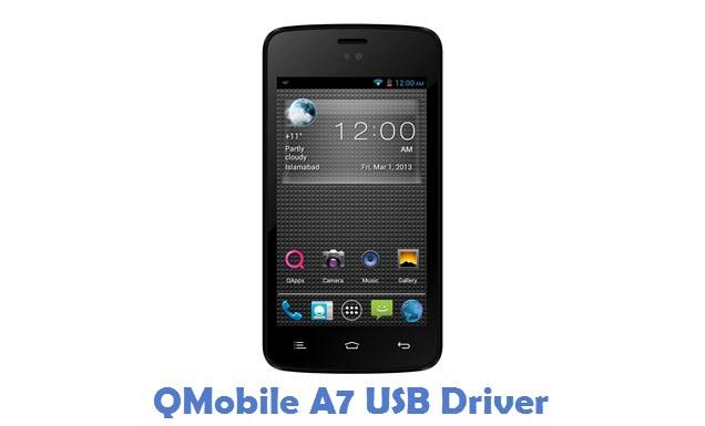 QMobile A7 USB Driver