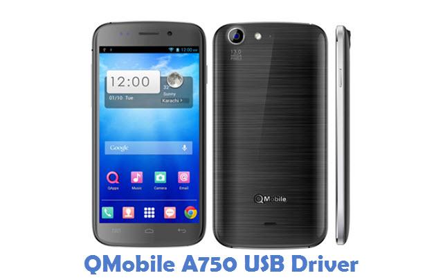 QMobile A750 USB Driver