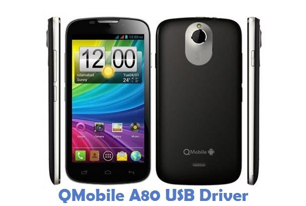 QMobile A80 USB Driver