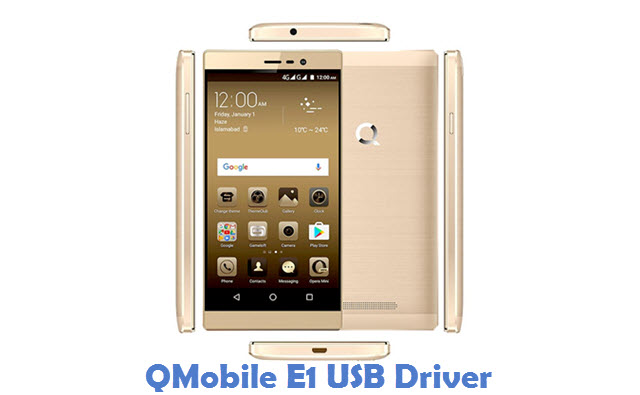 QMobile E1 USB Driver