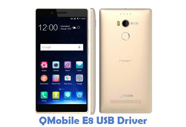 QMobile E8 USB Driver