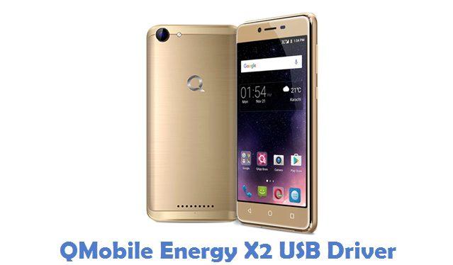 QMobile Energy X2 USB Driver