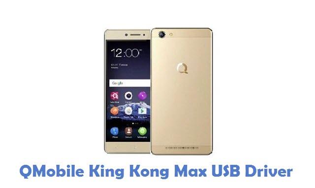 QMobile King Kong Max USB Driver