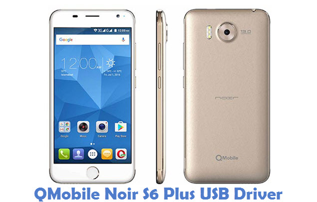 QMobile Noir S6 Plus USB Driver