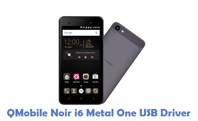 QMobile Noir i6 Metal One USB Driver