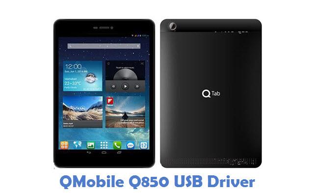 QMobile Q850 USB Driver