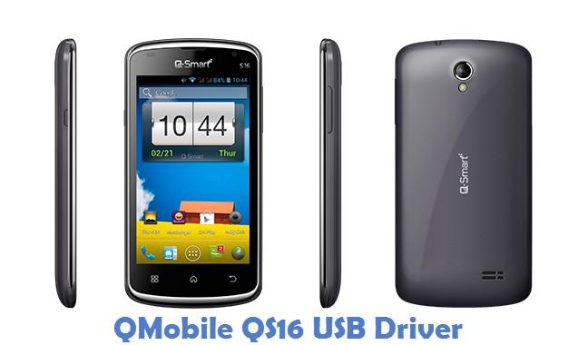 QMobile QS16 USB Driver