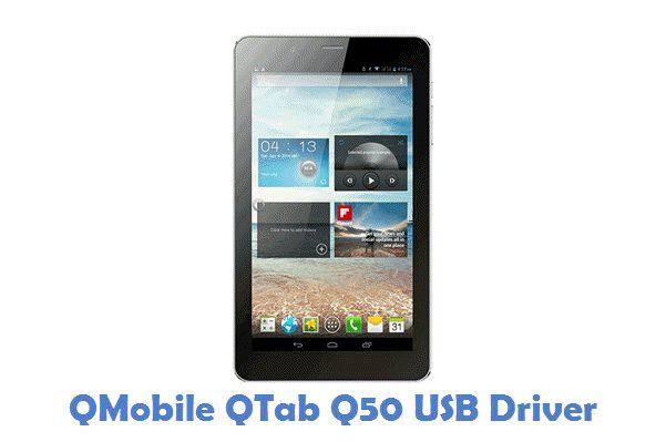 QMobile QTab Q50 USB Driver