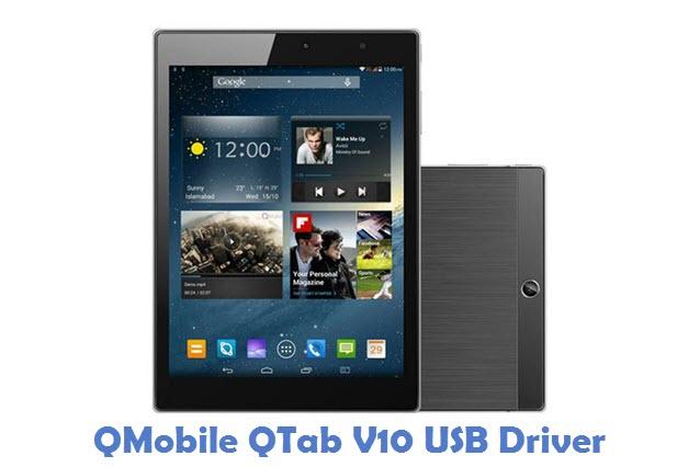 QMobile QTab V10 USB Driver