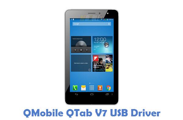 QMobile QTab V7 USB Driver