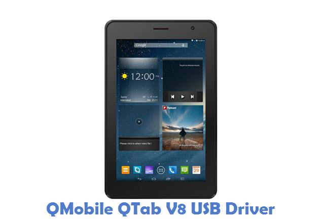 QMobile QTab V8 USB Driver
