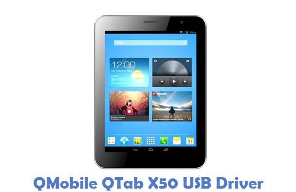 QMobile QTab X50 USB Driver