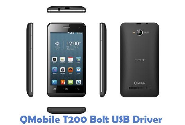 QMobile T200 Bolt USB Driver