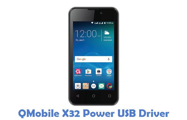 QMobile X32 Power USB Driver