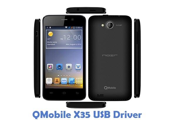 QMobile X35 USB Driver