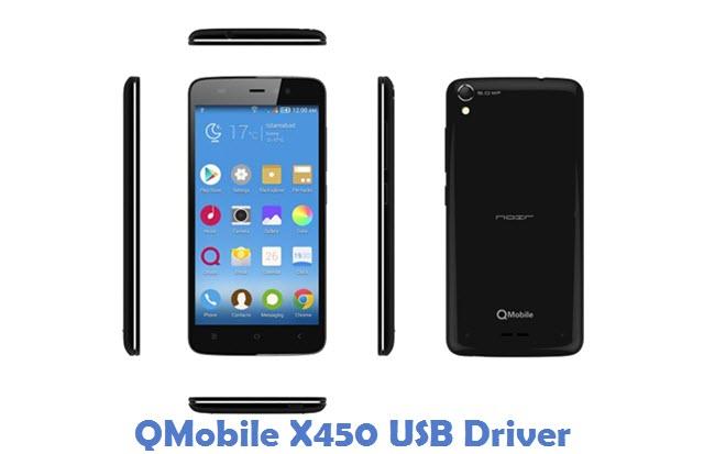 QMobile X450 USB Driver